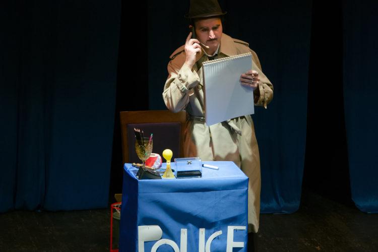 El inspector Muñoz