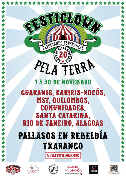 Cartel do Festiclown Pela Terra