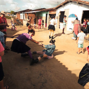 Palhaços en Kariri Xocó, Alagoas