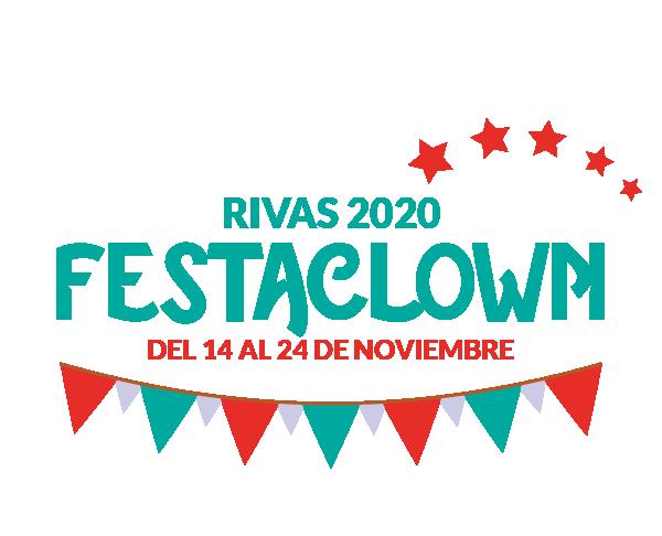 Logo Festaclown Rivas 2020